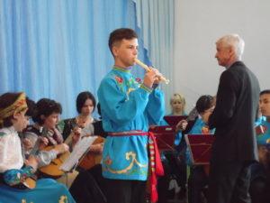 "Шагимарданов Урал и оркестр ""Коробейники"" в с. Ахуново"