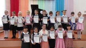 Юные пианисты в концертном зале ДМШ №1