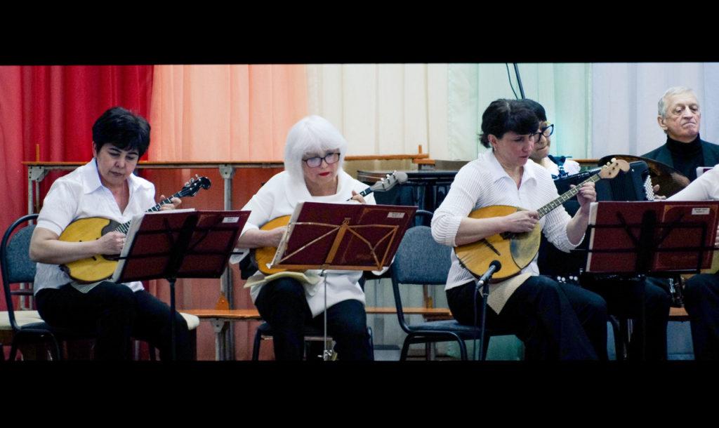 Ансамбль преподавателей отделения народных иструментов