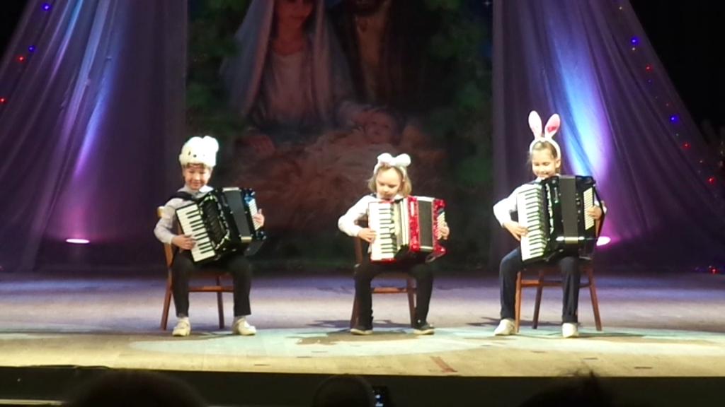 Трио аккордеонистов