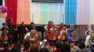 Отчетный оркестрового отделения декабрь 2017г01