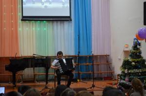 Отчетный концерт отделения народных инструментов 2017г05