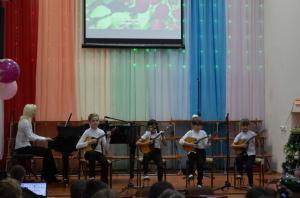 Отчетный концерт отделения народных инструментов 2017г06