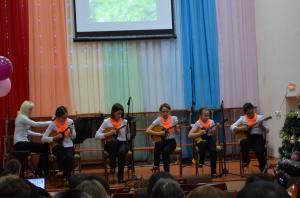 Отчетный концерт отделения народных инструментов 2017г10