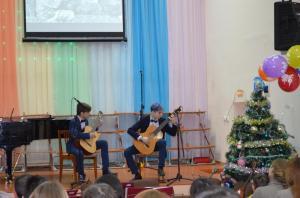 Отчетный концерт отделения народных инструментов 2017г11