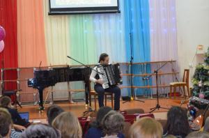Отчетный концерт отделения народных инструментов 2017г17