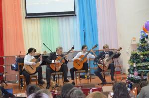 Отчетный концерт отделения народных инструментов 2017г18