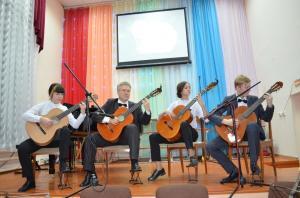 Отчетный концерт отделения народных инструментов 2017г19