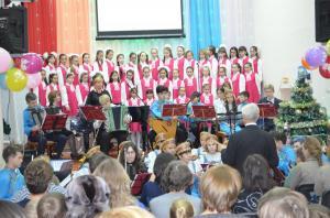 Отчетный концерт отделения народных инструментов 2017г20